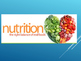 Nutrition: Carbohydrates, Fats, Proteins For LabLearner In