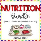 Nutrition Bundle (Healthy Flip Plate & Nutrition Write the Room)
