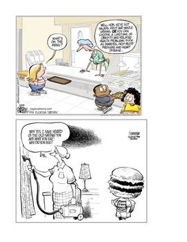 Nutrition Political Cartoons