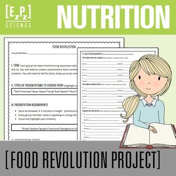 Nutrition Project- Food Revolution