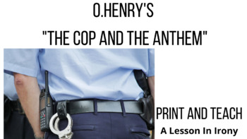 "O.Henry Short Story: ""The Cop and The Anthem"" Reading Less"