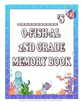 O-fish-al end of year memory book