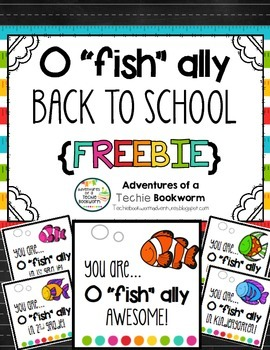 """O """"fish"""" ally tags {Back to School}"""