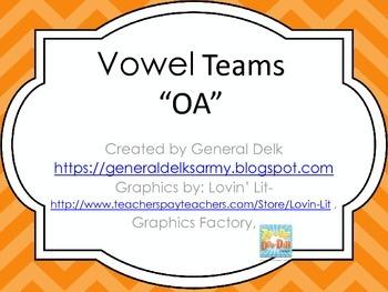 """OA"" Vowel Team"