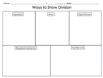 3OA.2 3OA.3 Ways to Show Division