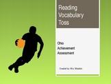 Reading Vocab Toss