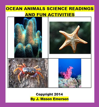 OCEAN ANIMALS SCIENCE READINGS AND FUN ACTIVITIES (COMMON