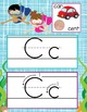 OCEAN - Alphabet Cards, Handwriting, ABC Flash Cards, ABC