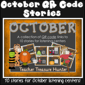 OCTOBER QR Code stories - 10 stories for the month of Octo