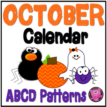 CALENDAR PATTERN NUMBERS for OCTOBER