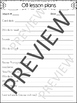 OG Lesson plan templates and binder covers