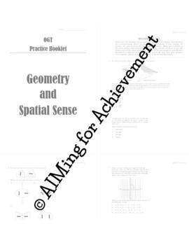 OGT Prep - Geometry Booklet