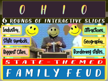 OHIO FAMILY FEUD! Engaging game about cities, geography, i