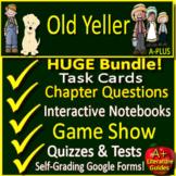 Old Yeller Unit Novel Study