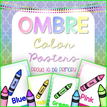 Color Posters OMBRE