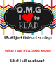 OMG I love to Read Poster