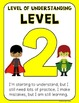 Levels of Understanding Posters - Student Reflection