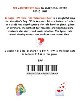 ON VALENTINE'S DAY - a song about caring & sharing on Vale