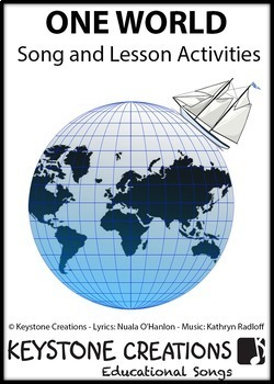 ONE WORLD ~ Curriculum Song & Lesson Activities