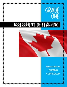 ONTARIO CURRICULUM Patterning Assessment OF Learning