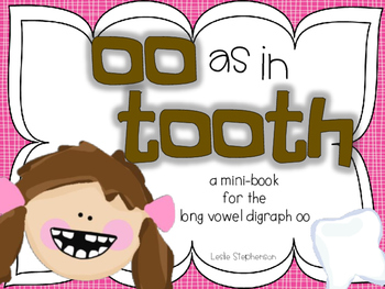 OO as in Tooth - A Mini Book