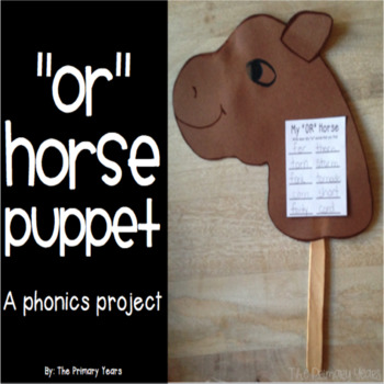 OR Word Work Craftivity - A Phonics Project