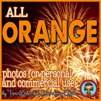 Photos Photographs ORANGE Color for Personal and Commercial Use