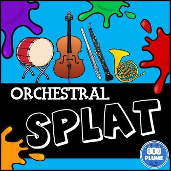 ORCHESTRA (SPLAT LISTENING & VISUAL IDENTIFICATION GAME)