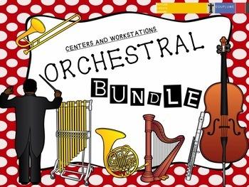 ORCHESTRA WORKSTATIONS/ CENTERS BUNDLE