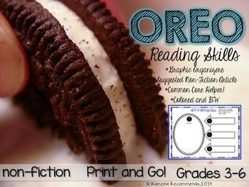 OREO Reading Skills Comprehension Helper Non-fiction/Fiction