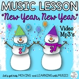 "Orff Game Song: ""New Year, New Year"" Lessons, Music, Mp3 T"