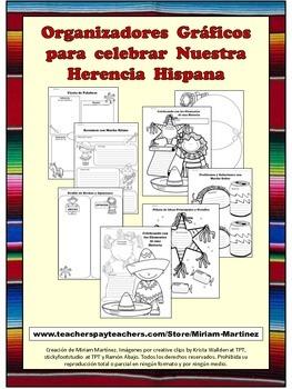 ORGANIZADORES GRAFICOS PARA CELEBRAR NUESTRA HERENCIA HISPANA