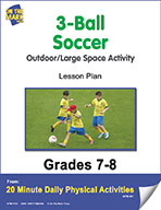 3-Ball Soccer Lesson Plan (eLesson eBook)