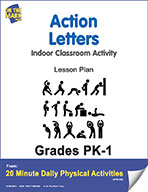 Action Letters Lesson Plan (eLesson eBook)