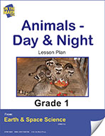 Animals - Day and Night Gr. 1 (e-lesson plan)