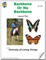 Backbone or No Backbone Lesson Plan