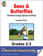 Bees & Butterflies Lesson Plan (eLesson eBook)