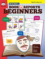 Book Reports for Beginners Gr. 1-2 Aligned to Common Core (eBook)