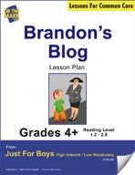 Brandon's Blog (Fiction - Recount Writing) Grade Level 1.9
