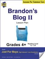 Brandon's Blog - Part II (Fiction - Recount Writing) Grade