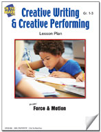 Creative Writing and Creative Performing Lesson Plan