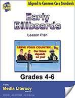 Early Billboards Lesson Plan (eBook)