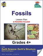 Earth Science - Fossils e-lesson plan & Reading Folder