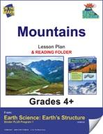 Earth Science - Mountains e-lesson plan & Reading Folder