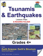 Earth Science - Tsunamis & Earthquakes e-lesson plan & Rea