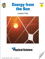 Energy From The Sun Lesson Plan