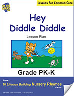 Hey Diddle Diddle Literacy Building Nursery Rhyme Aligned