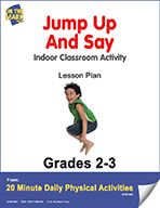 Jump Up And Say Lesson Plan (eLesson eBook)