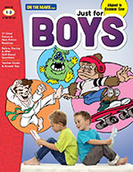Just for Boys Reading Comprehension Gr. 1-3 Aligned to Com