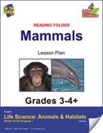 Life Science Animals & Habitats - Reading Folder - Insects